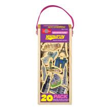 Architecture Wooden Magnets - 20 Piece MagnaFun Set | T.S. Shure