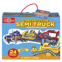 Construction Semi Truck Jumbo Floor Puzzle   T.S. Shure