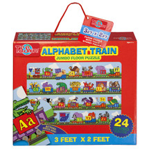Alphabet Train Jumbo Floor Puzzle | T.S. Shure