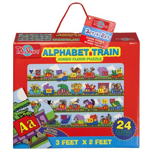 Alphabet Train Jumbo Floor Puzzle | T.S. Shure