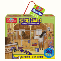 Horse Stable Jumbo Floor Puzzle | T.S. Shure