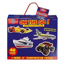 On The Go! Jumbo Floor Puzzles | T.S. Shure