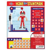 HangÇ___Ç®¶_Ç__Ç_¶¸EmÇ___Ç®¶Ç®¶œÇ__Ç®¶½ Stuntman Wooden Magnetic Hangman Game | T.S. Shure