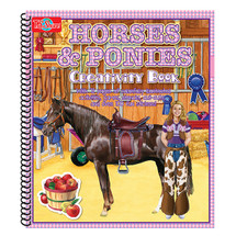 Horse & Ponies Creativity Book | T.S. Shure