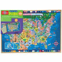 PuzBoxÇ___Ç®¶Ç®¶œÇ__Ç®¶½ U.S.A. Map: 500 Piece Puzzle In Jumbo Box | T.S. Shure