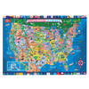 PuzBox  U.S.A. Map: 500 Piece Puzzle In Jumbo Box | T.S. Shure