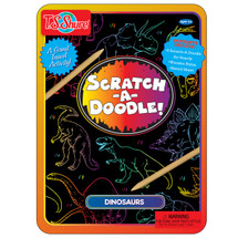Scratch-A-Doodle Dinosaurs Activity Tin | T.S. Shure