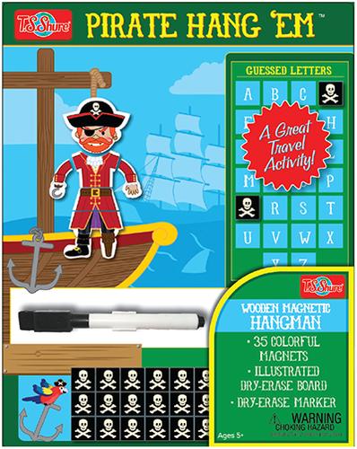 HangÇ___Ç®¶_Ç__Ç_¶¸EmÇ___Ç®¶Ç®¶œÇ__Ç®¶½ Pirate Wooden Magnetic Hangman Game   T.S. Shure