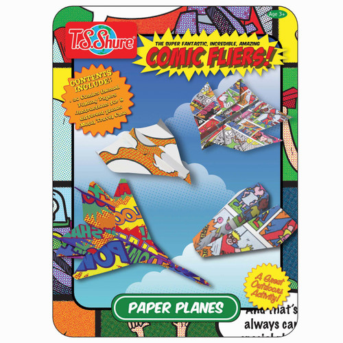 Comic Flyers Activity Tin | T.S. Shure