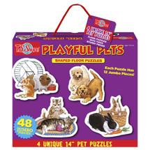 Playful Pets Jumbo Floor Puzzles   T.S. Shure