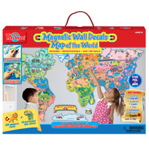 Map of the World Magnetic Wall Decals | T.S. Shure