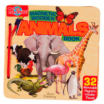 Animals Wooden Magnetic Book   T.S. Shure