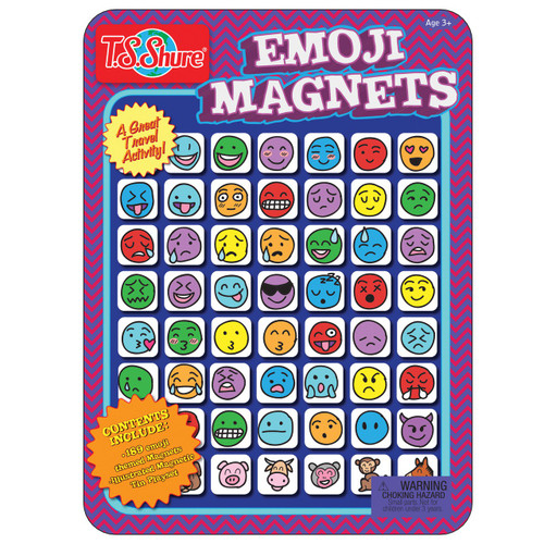 Emoji Magnets Magnetic Tin Playset | T.S. Shure