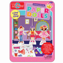Dress & Press Paper Dolls Creativity Tin | T.S. Shure