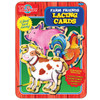 Farm Friends Lacing Cards Activity Tin | T.S. Shure