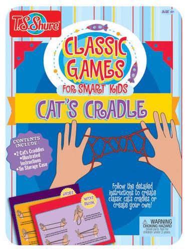 Cat's Cradle Activity Tin | T.S. Shure