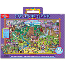 Map of Storyland Magnetic Playboard & Puzzle | T.S. Shure