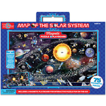 Map of the Solar System Magnetic Playboard & Puzzle | T.S. Shure