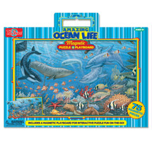 Ocean Life Magnetic Playboard & Puzzle | T.S. Shure
