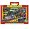 Classic Railroad Magnetic Playboard & Puzzle | T.S. Shure