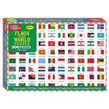 Flags of the World Jigsaw Puzzle | T.S. Shure