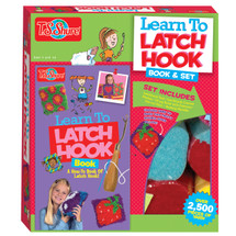 Learn to Latchhook Activity Set & Book | T.S. Shure