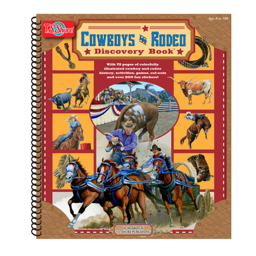 Cowboys & Rodeo Discovery Book | T.S. Shure