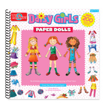 Daisy Girls Paper Doll Creativity Book | T.S. Shure