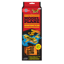 Rubber Band Powered Rescue Flier Model Plane Kit