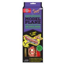 Rubber Band Powered Defense Flier Model Plane Kit