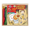 Basketball Wooden Lacing Cards   T.S. Shure