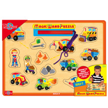 Build It Magic Wand Wooden Magnetic Puzzle | T.S. Shure