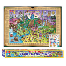 Storyland Map Pictorial Poster | T.S. Shure