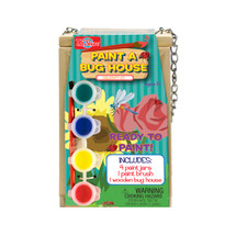 Wooden Paint-A-Bug House Creativity Kit