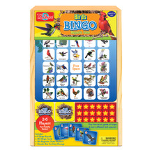 Bird Bingo Travel Game in a Wood Box