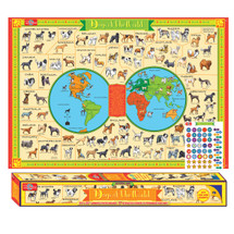 Dogs of the World Pictorial Poster