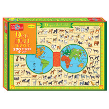 Dogs of the World Jigsaw Puzzle (300-Pieces)