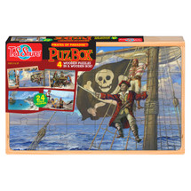 Pirates of Paradiseª 4 Large Puzzles with Box