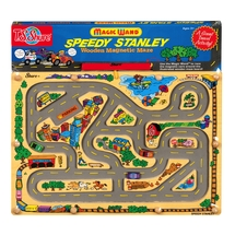 Speedy Stanley Wooden Magnetic Maze