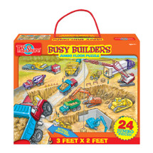 Busy Builders Jumbo Floor Puzzle (24 Pieces)