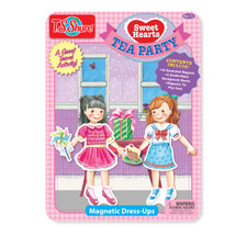 Sweethearts Tea Party Dress-Ups Magnetic Tin Playset