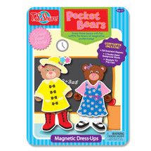 Pocket Bears Dress-Ups Magnetic Tin Playset