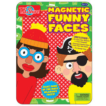 Magnetic Funny Faces Tin Playset