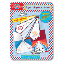Paper Airplane Letters Activity Tin