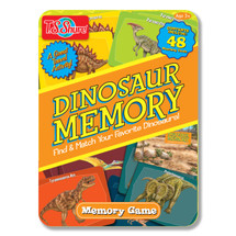Dinosaur Memory Game Tin