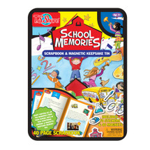 School Memories Scrapbook, Magnets, & Keepsake Tin