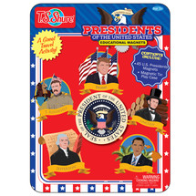 Presidents of the United States Educational Magnets Tin