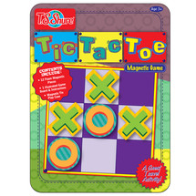 Tic Tac Toe Deluxe Magnetic Game Tin