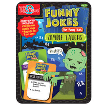 Zombie Laughs Funny Jokes Tin