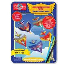 Strawshooter Jets Paper Airplane Activity Tin